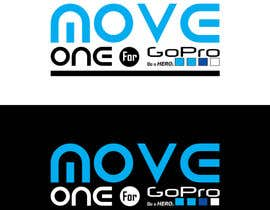 #10 for Projetar um Logo - MOVE ONE For GoPro. Be a HERO. by MadaSociety