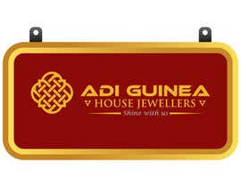 #25 untuk Design a outdoor sign board for a gold jwellery shop oleh dustu33