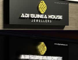 #37 untuk Design a outdoor sign board for a gold jwellery shop oleh midget