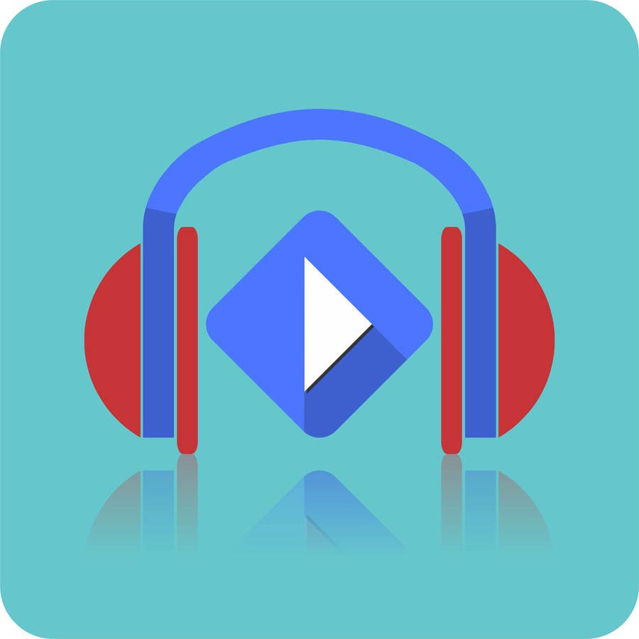 Kilpailutyö #40 kilpailussa Design a Logo for a Music Player app