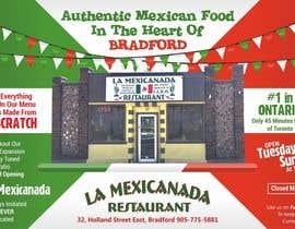 #4 untuk Design an Advertisement for Mexican Restaurant oleh mohitjaved