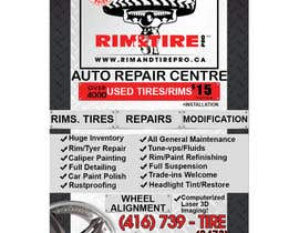 #1 untuk Design a Banner for Rim and Tire Shop oleh andrei215