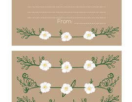 #16 cho Design some Stationery for wedding advice cards bởi ancadc