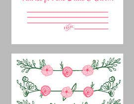 #19 cho Design some Stationery for wedding advice cards bởi ancadc