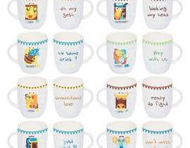 Nro 8 kilpailuun Creative Design Required for Zodiac Mug series käyttäjältä roxunlimited