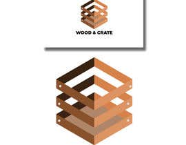 Nro 58 kilpailuun Design a Logo for Wood & Crate käyttäjältä ayahermanos