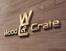 #40 untuk Design a Logo for Wood & Crate oleh Dimches