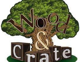 #71 untuk Design a Logo for Wood & Crate oleh AndreyTihonov