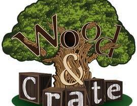 AndreyTihonov tarafından Design a Logo for Wood & Crate için no 71