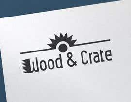 anwera tarafından Design a Logo for Wood & Crate için no 57