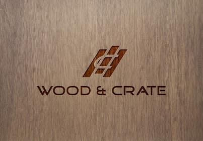 Nro 49 kilpailuun Design a Logo for Wood & Crate käyttäjältä vsourse009