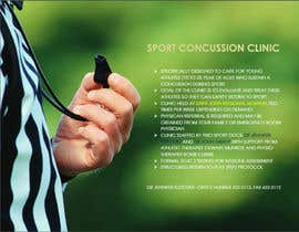 #5 para Design a Flyer for Sports Concussion Clinic por kirti28kumar