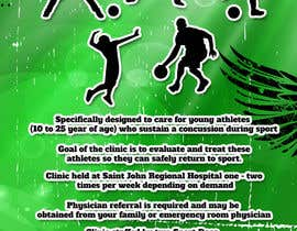#3 para Design a Flyer for Sports Concussion Clinic por rogeriolmarcos