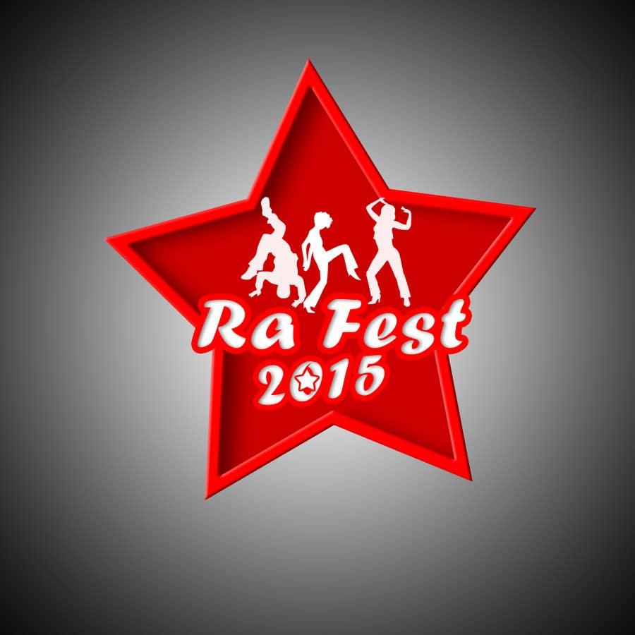 Penyertaan Peraduan #4 untuk RA Fest Logo