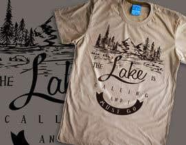 Nro 5 kilpailuun Design a T-Shirt for Lake käyttäjältä machine4arts