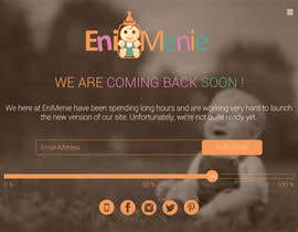 "#20 untuk Build a ""Coming Soon Website"" for my Baby Producct Brand oleh nirajmandaliya"