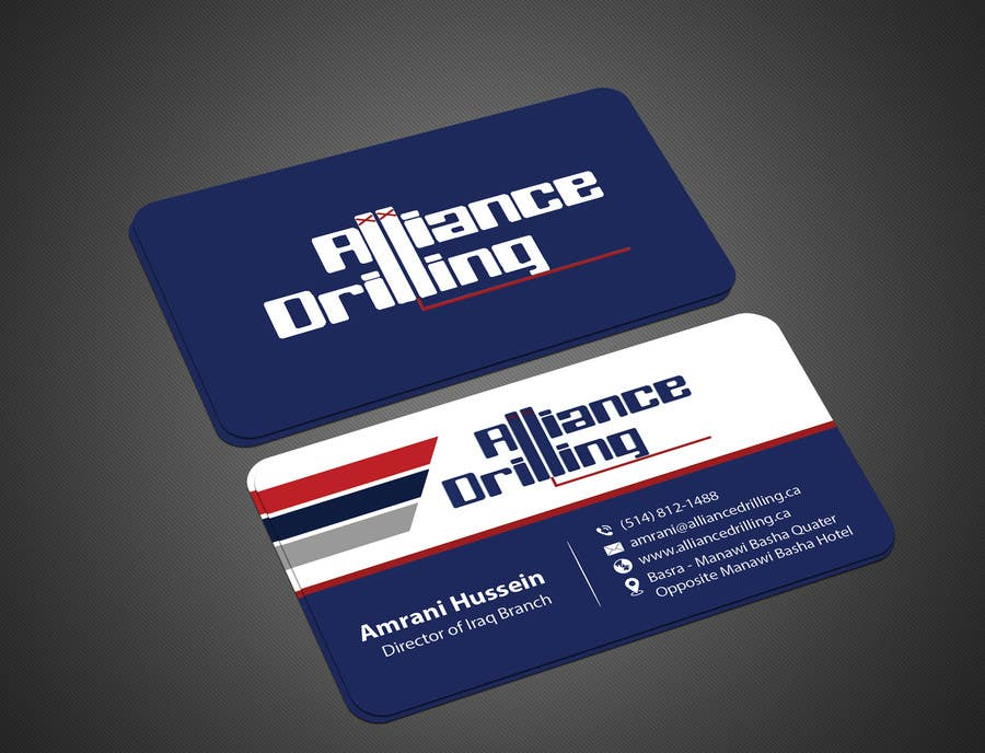 Design some business cards for drilling riggs oil gas freelancer colourmoves