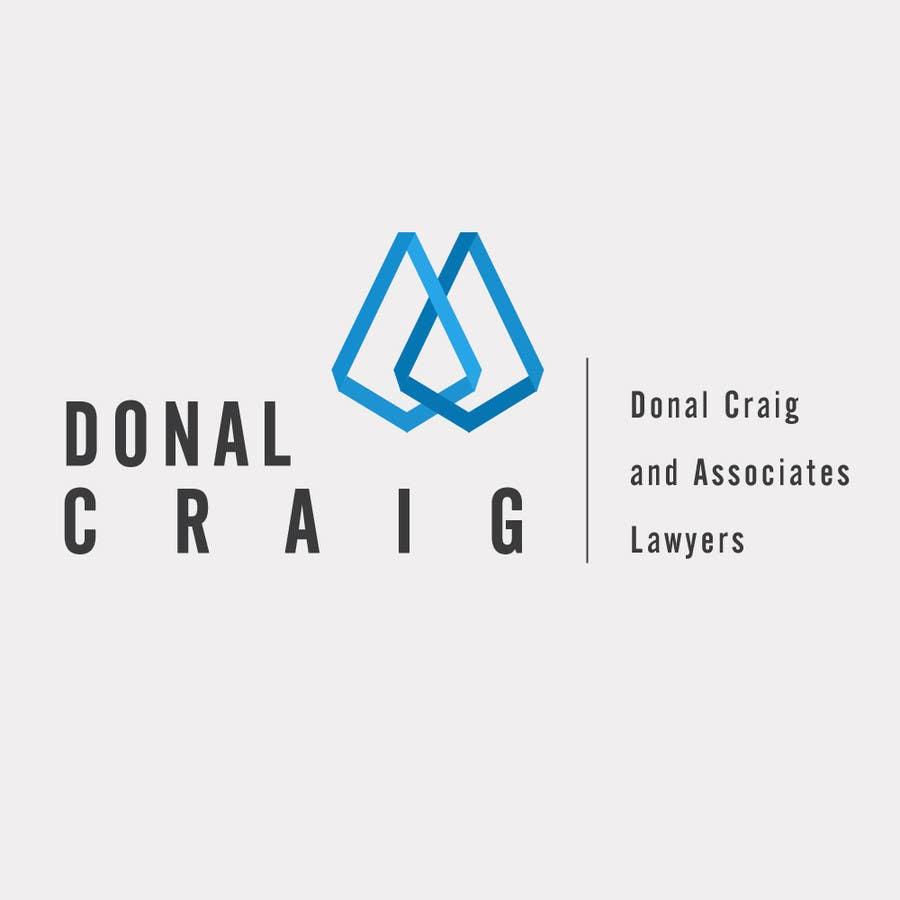 Penyertaan Peraduan #2 untuk Design a Logo for Donal Craig and Associates