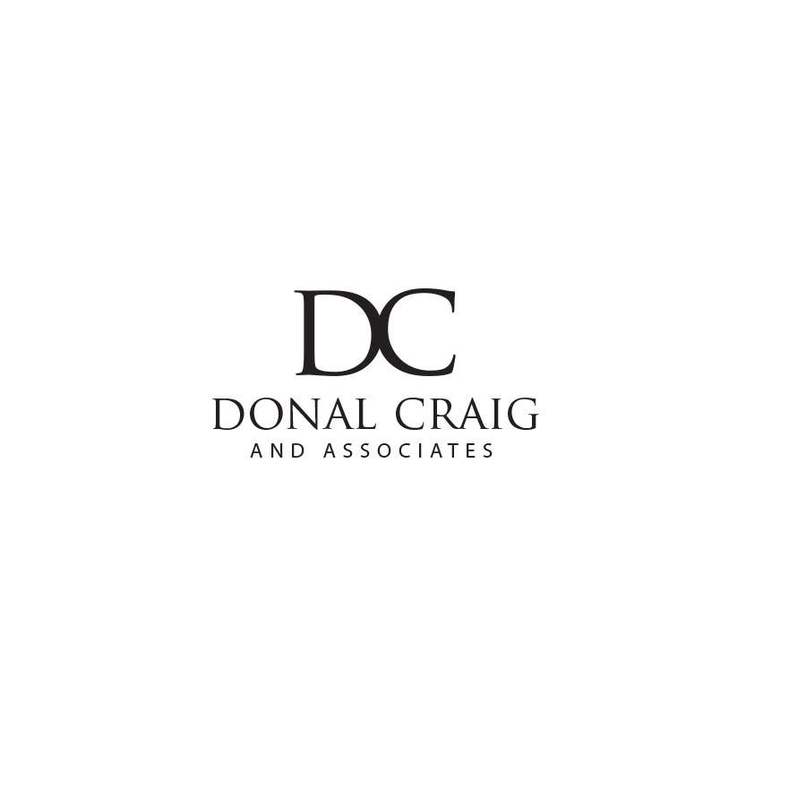 Penyertaan Peraduan #28 untuk Design a Logo for Donal Craig and Associates