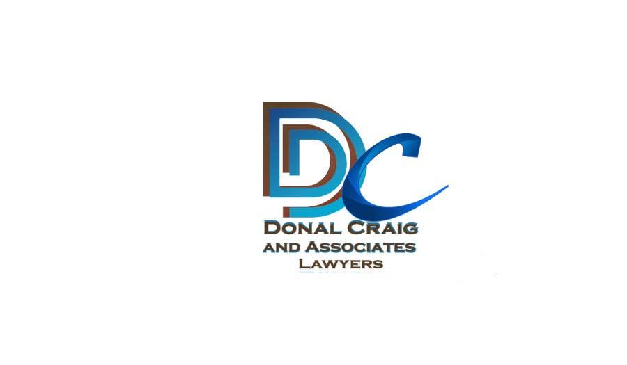 Penyertaan Peraduan #4 untuk Design a Logo for Donal Craig and Associates