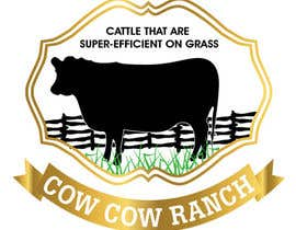 #61 for Design a Logo for Cow Cow Ranch by zeddcomputers