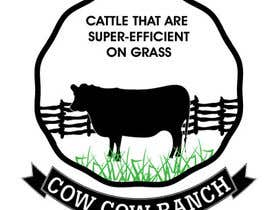 #72 for Design a Logo for Cow Cow Ranch by zeddcomputers