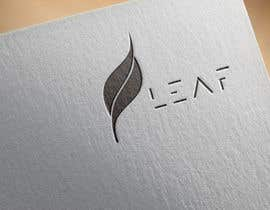 #120 untuk Design a Font Logo for Leaf oleh pernas