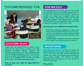 #22 for Design a Brochure for Tuition Centre & Private Tuition af nerielm25