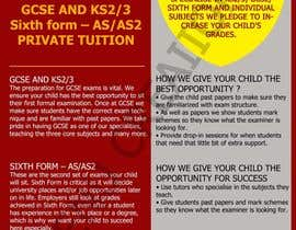 #8 for Design a Brochure for Tuition Centre & Private Tuition af meenuchan93