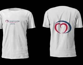 #3 untuk Design a T-Shirt for Oceanside Valentine Week oleh ANADEN