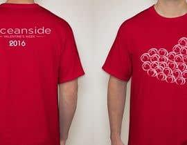 #76 untuk Design a T-Shirt for Oceanside Valentine Week oleh airayaya