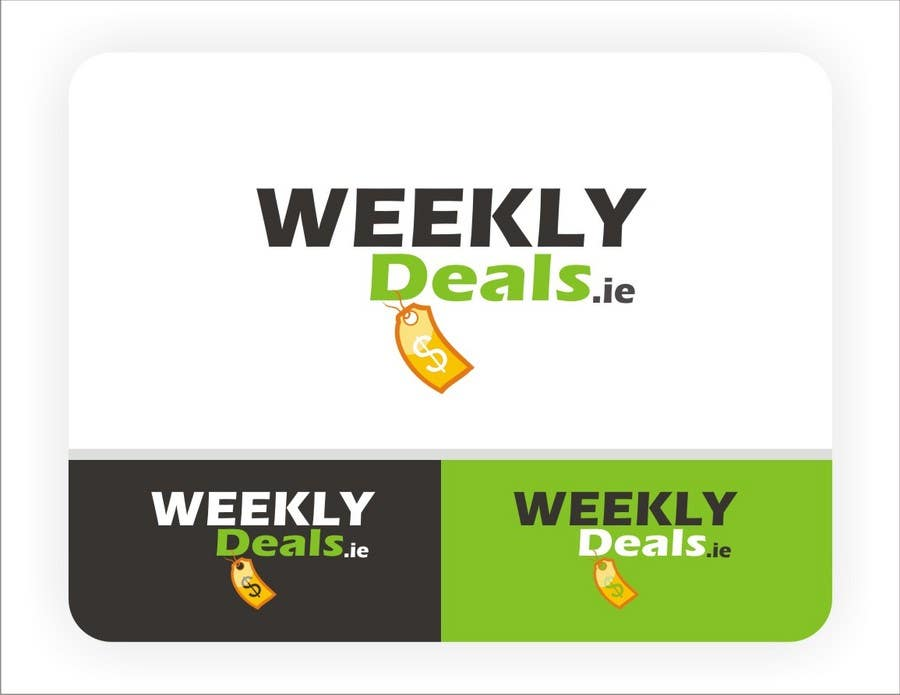 Contest Entry #120 for Logo Design for weeklydeals.ie