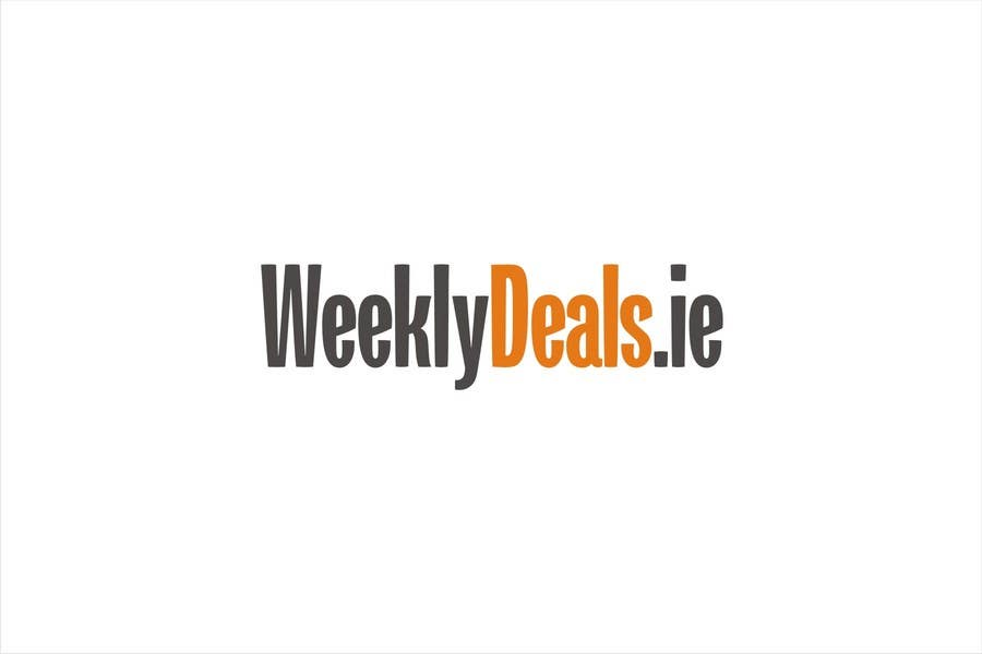 Bài tham dự cuộc thi #88 cho Logo Design for weeklydeals.ie