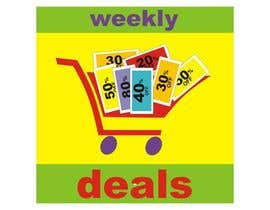 #179 cho Logo Design for weeklydeals.ie bởi innovys