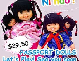 Nro 19 kilpailuun Passport Dolls käyttäjältä Maitran203