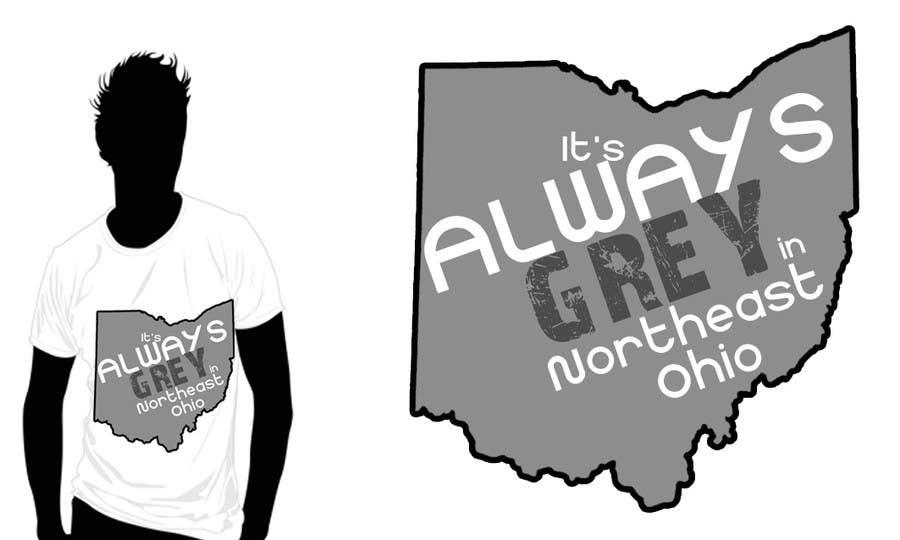 Bài tham dự cuộc thi #                                        15                                      cho                                         Design a T-Shirt for Northeast Ohio