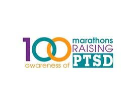 #67 untuk Design a Logo for 100 Marathons for Post Traumatic Stress Disorder oleh cuongprochelsea
