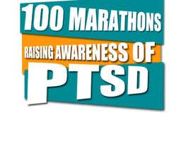 #19 untuk Design a Logo for 100 Marathons for Post Traumatic Stress Disorder oleh ovaisaslam89