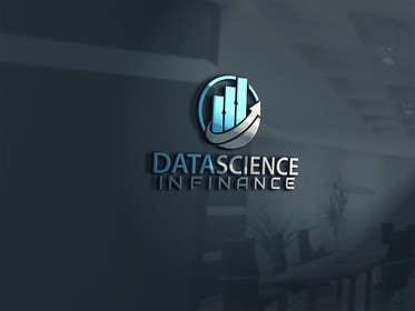 "#42 untuk Design a Logo for ""Datascience in Finance"" group oleh alikarovaliya"