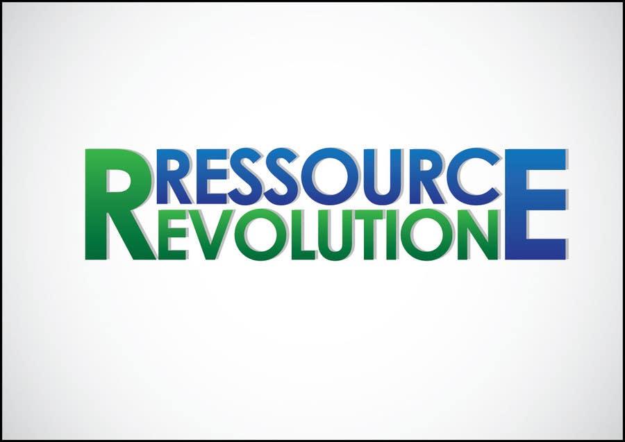 Proposition n°21 du concours Design a Logo for RessourceRevolution