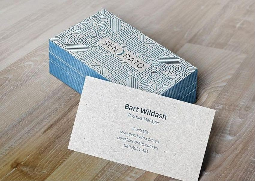 Entry #58 by shinoy1010 for Design some Business Cards for ...