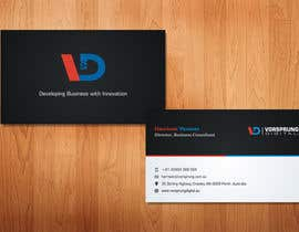 #49 for Design some Business Cards for Australian startup business and technology consulting firm af sami24x7