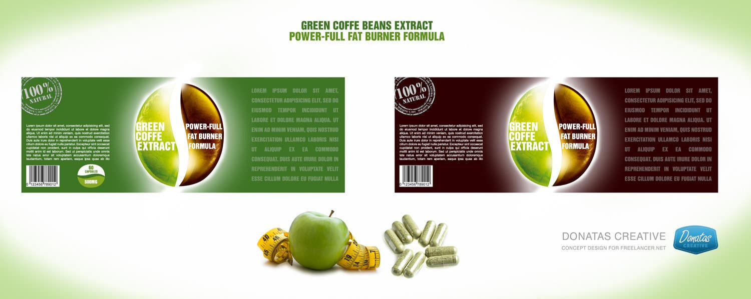 #19 for Create Print and Packaging Designs for a weight-loss herbal remedy by donatascreative