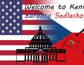 noolee tarafından Foreign Exchange Student Welcome Banner için no 9
