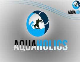 Nro 65 kilpailuun Logo for Aquaholics Kitesurfing käyttäjältä iftawan