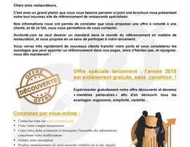 Nro 11 kilpailuun Brochure Pro / Flyer / Lettre Avolonté.com käyttäjältä Tommy50