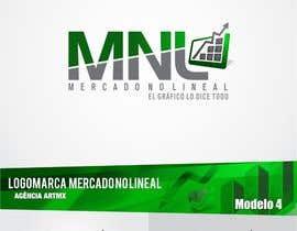 nº 14 pour Diseñar un logotipo mercadonolineal.com par artmx