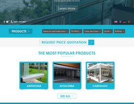 #5 cho Design a Website Mockup for geambalcon.ro bởi muhamedibrahim25