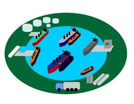 hennyuvendra tarafından Illustrate Something for maritime logistics for LNG için no 9