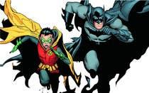 Illustration-kilpailutyö nro 18 kilpailussa 1960,s style Batman and Robin cartoon
